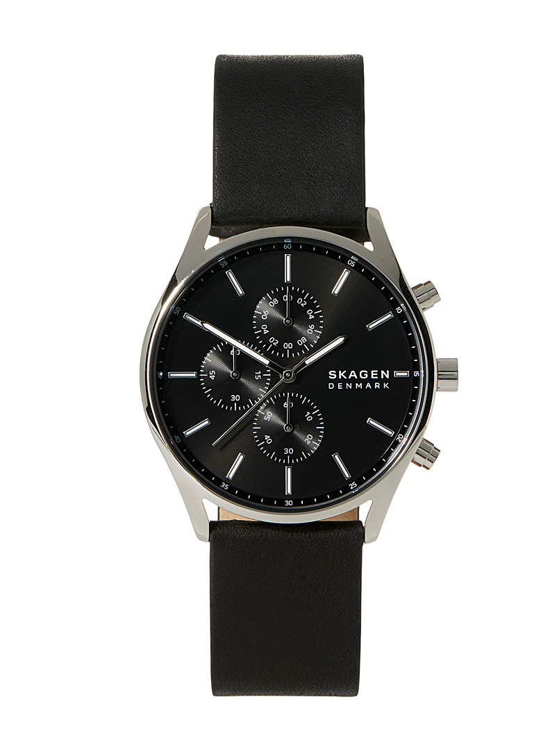 Skagen Black Holst watch for men