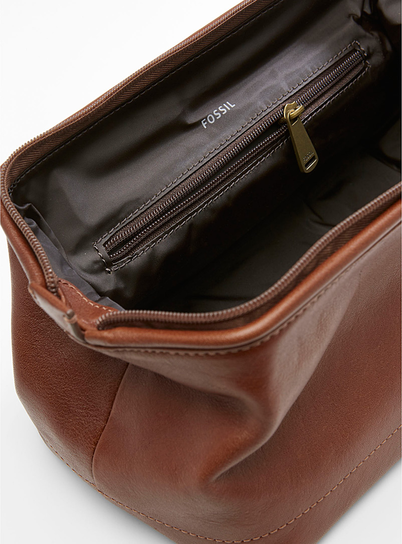 Fossil Honey Rigid travel case for men