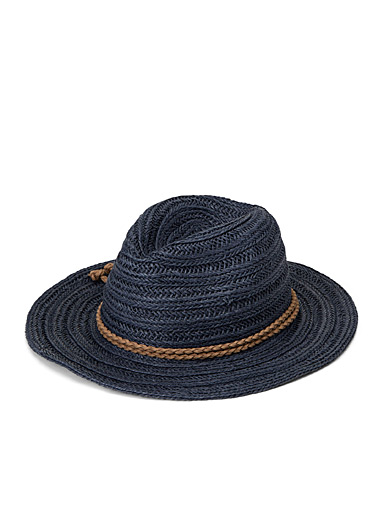 Braided paper Panama hat