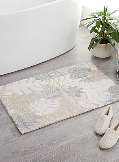 Soothing foliage bath mat  24&quote; x 36&quote;