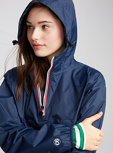 L'anorak compressible imperméable