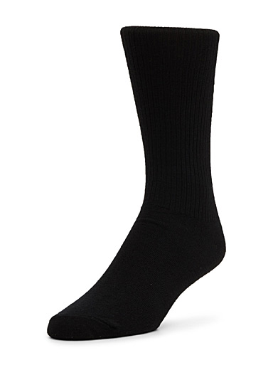 Cashmere and merino socks