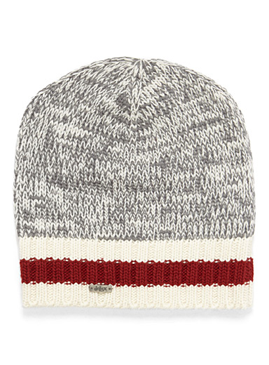 Wool sock knit tuque