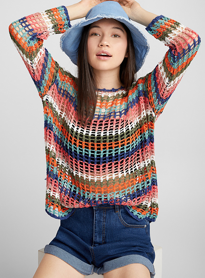 le-pull-filet-rayures-soleil