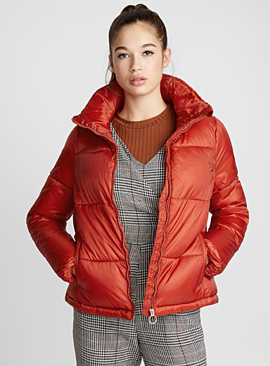 Baggy quilted jacket