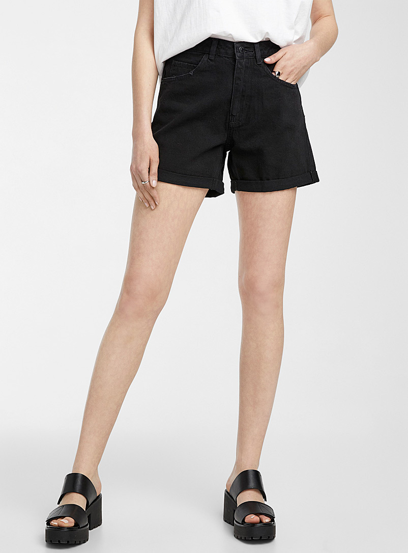 Vero Moda Baby Blue Casual high-rise short for women
