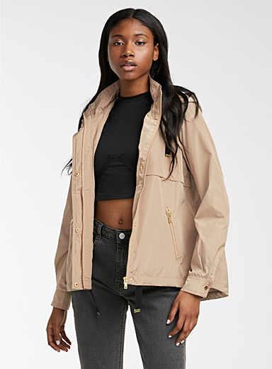 Vero Moda Sand Silky cocoon jacket for women