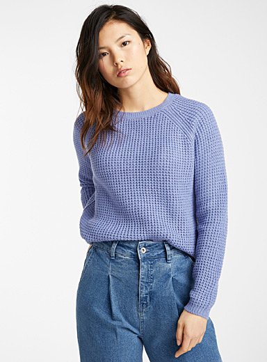 Chain-rib sweater