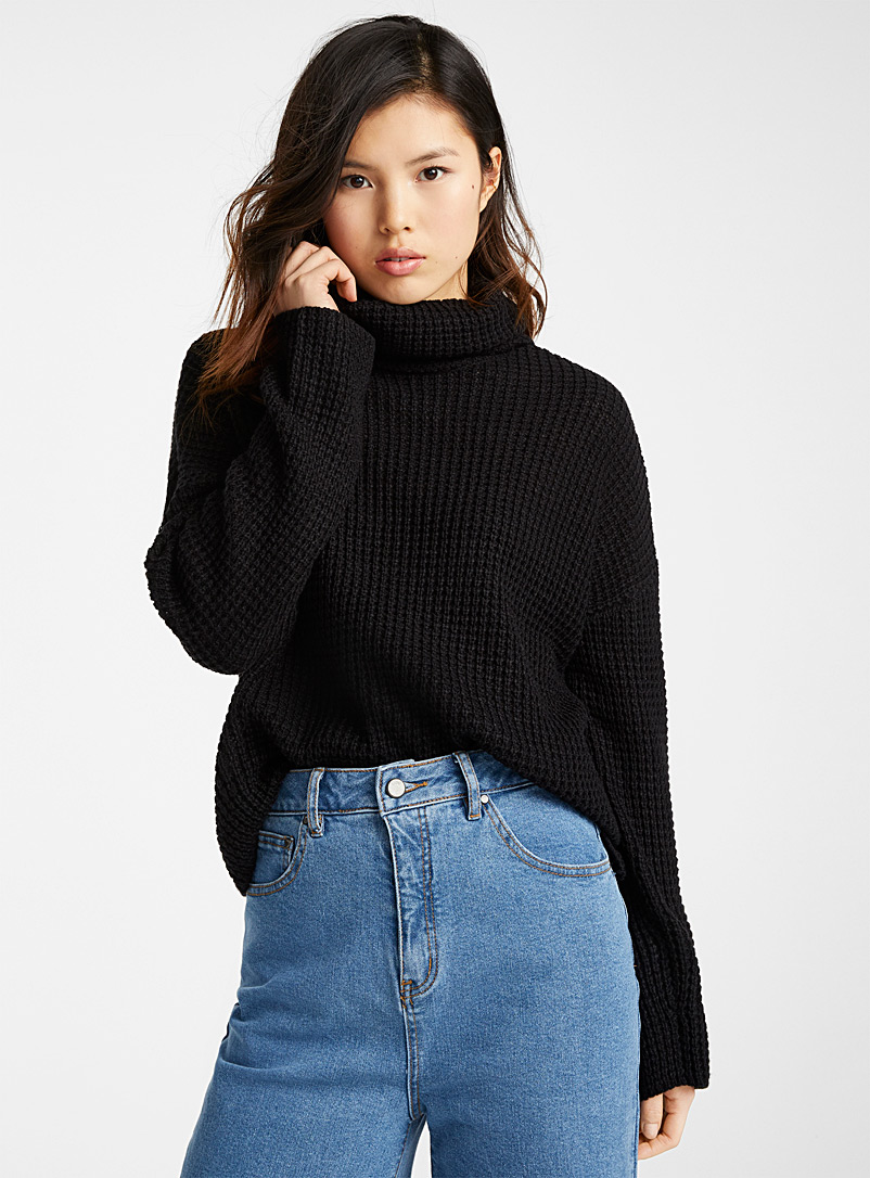 le-pull-gaufre-col-roule