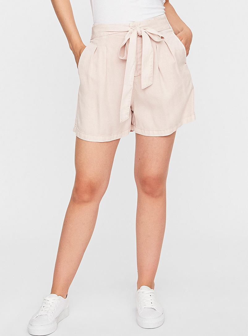 Vero Moda Dusky Pink Mia pink TENCEL Lyocell* short for women