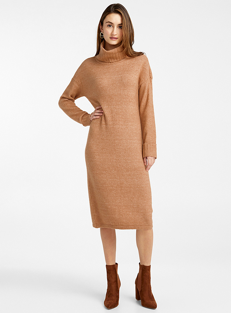 Vero Moda Fawn Turtleneck sweater dress for women