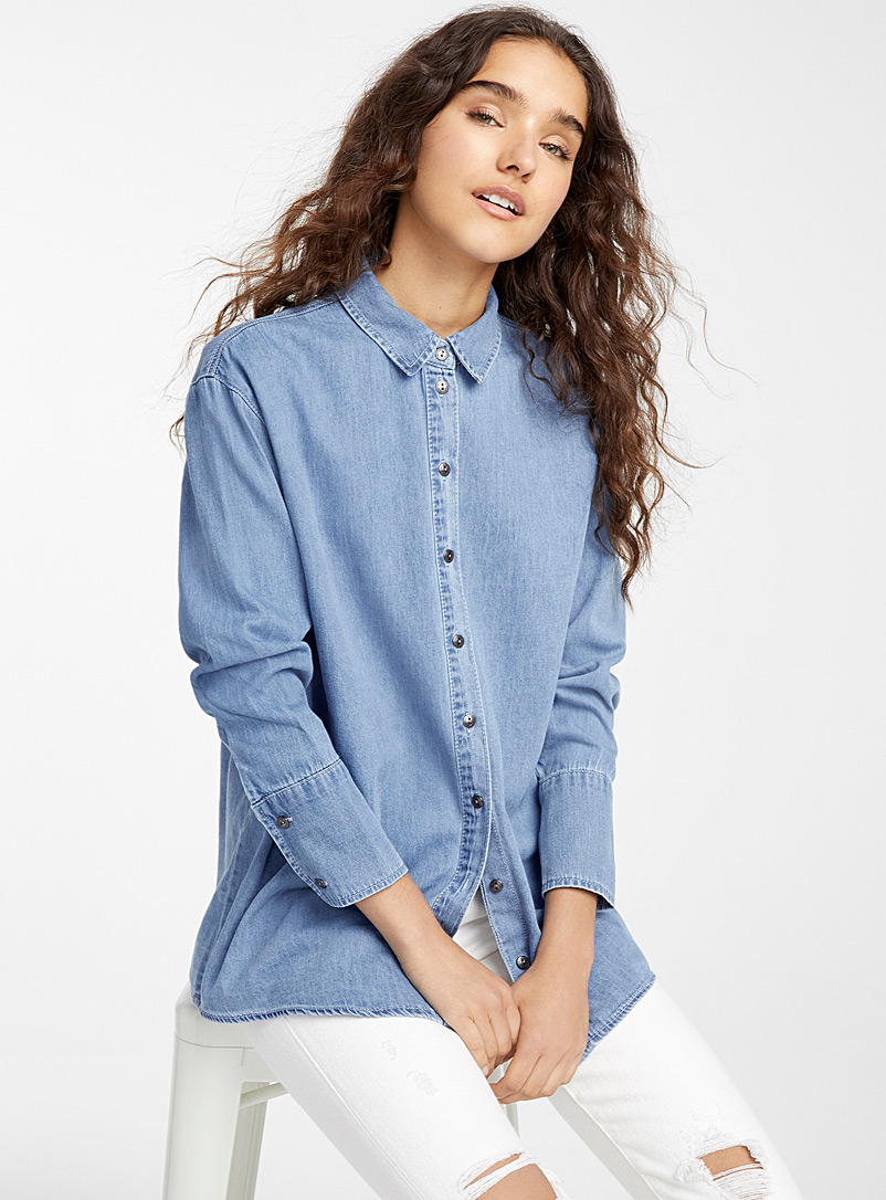 loose-denim-shirt