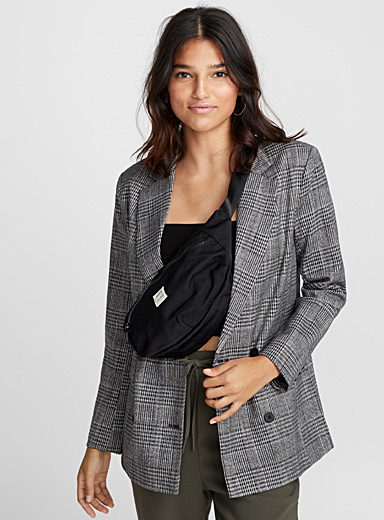 English check blazer