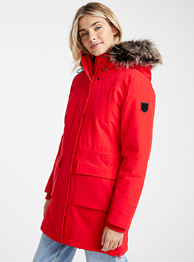 Le parka nylon extensible Sally