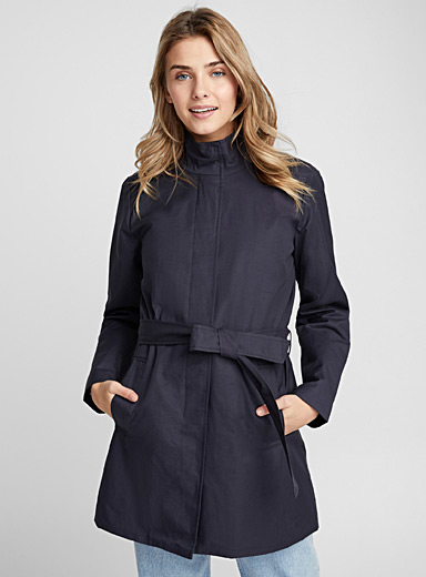 Ashiley belted trench coat
