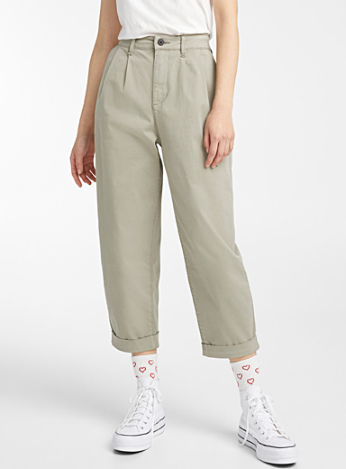 Only Fawn Pleated twill pant for women