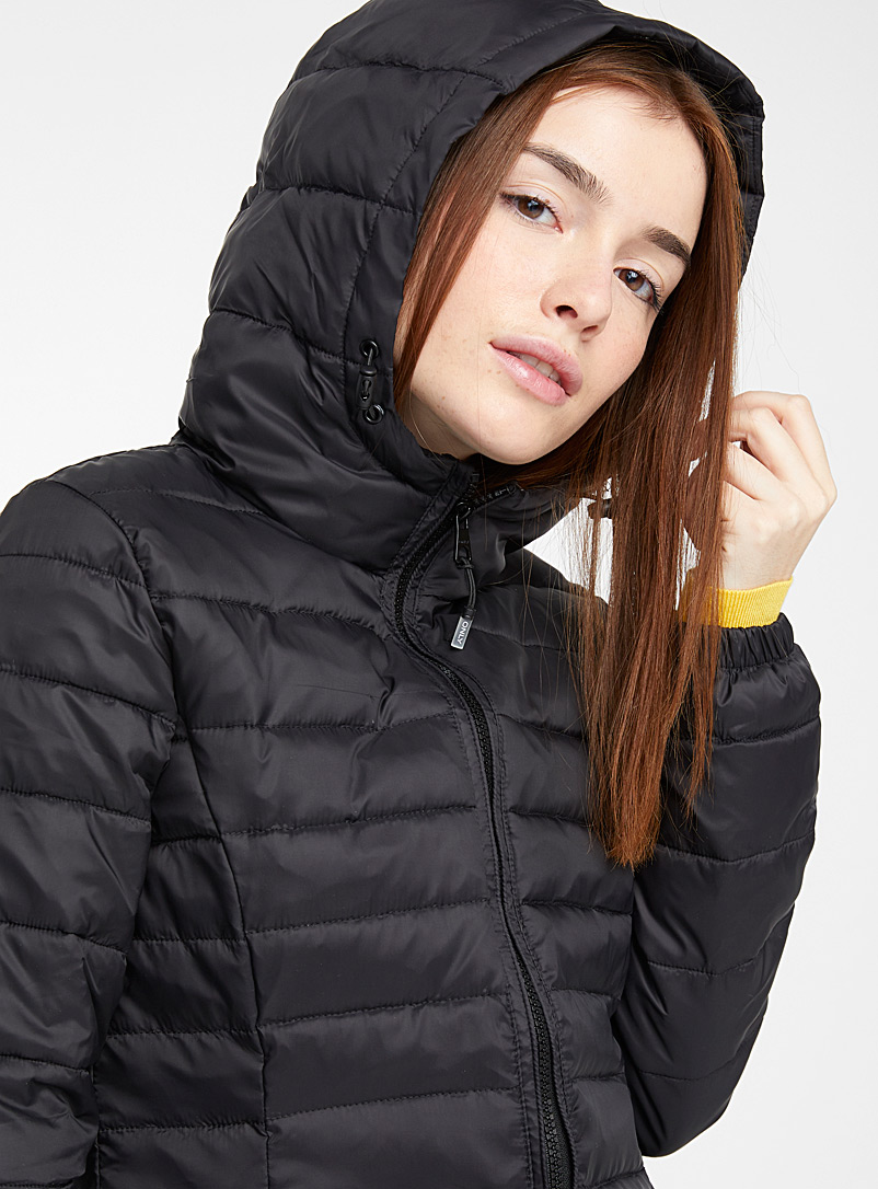 Only Black Tahoe 3/4 puffer jacket for women