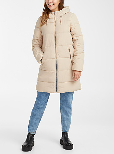 Only Fawn Dolly crisp nylon puffer jacket for women