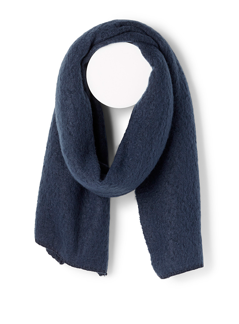 Only Marine Blue Divinely soft scarf for women