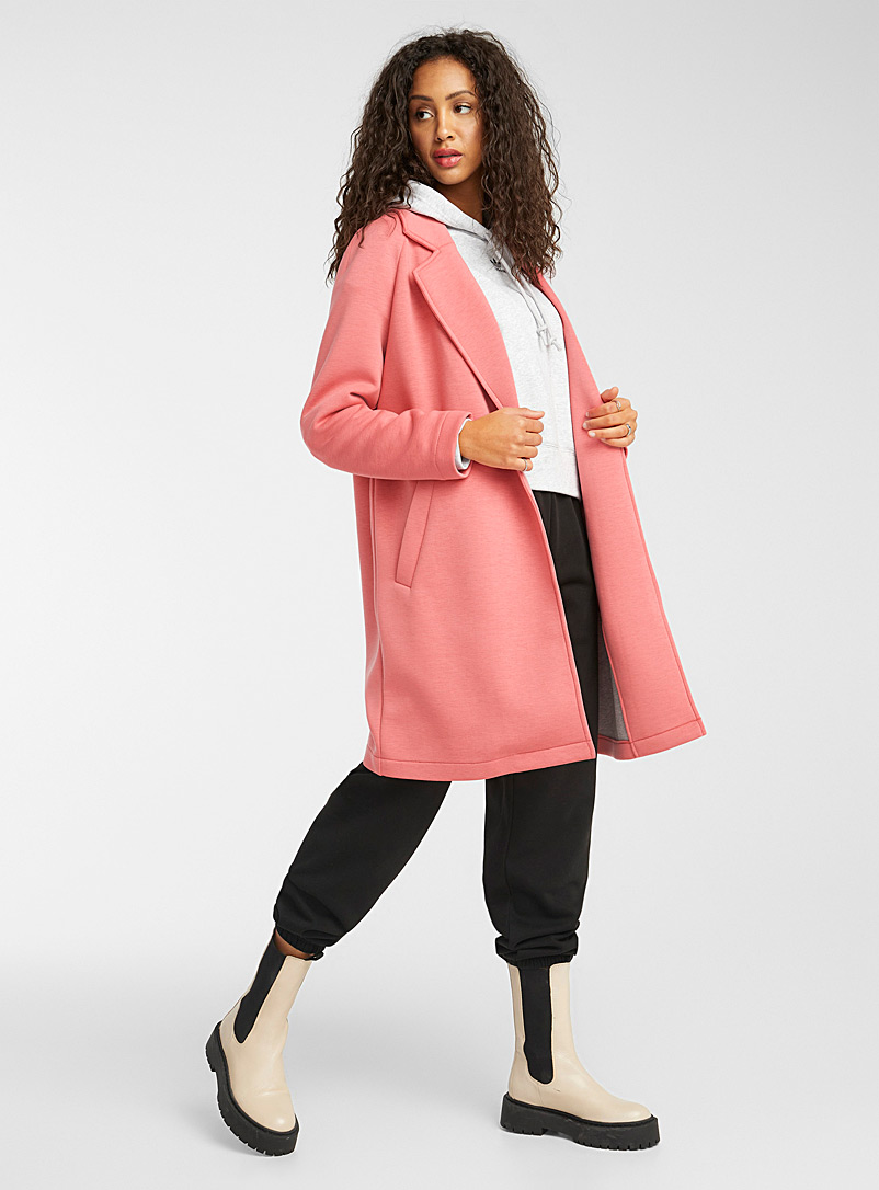 Only Pink Loose jacket coat for women
