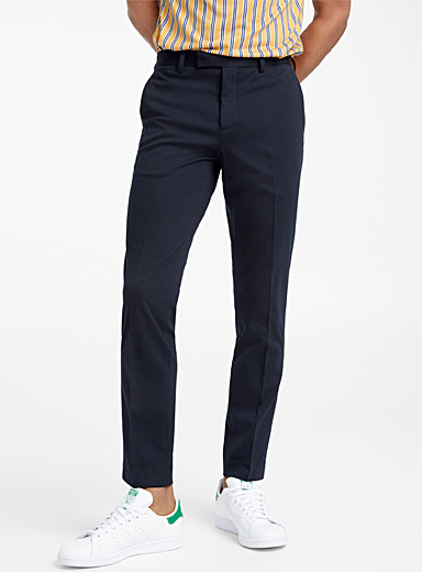 Navy knit pant  Slim fit