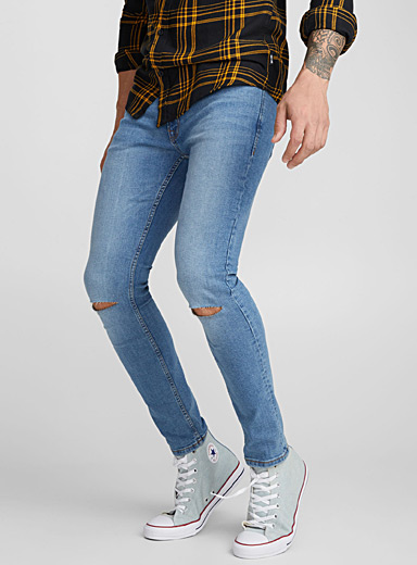 Liam faded jean <br>Skinny fit