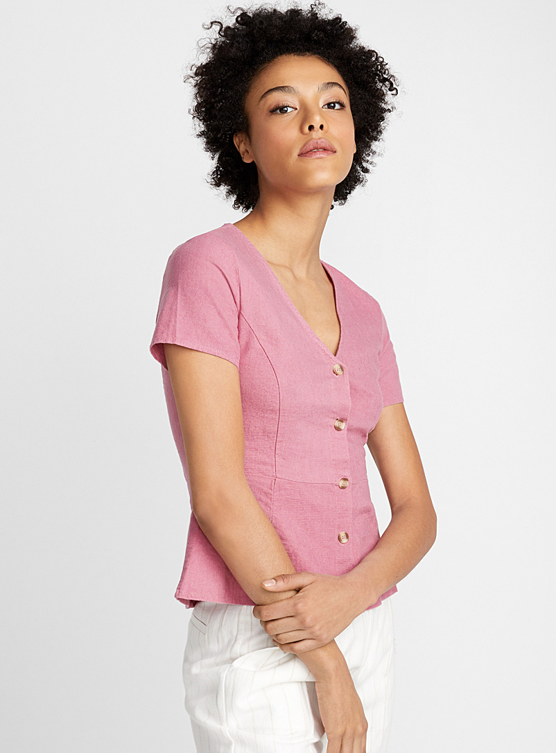 la-blouse-viscose-lin-rose