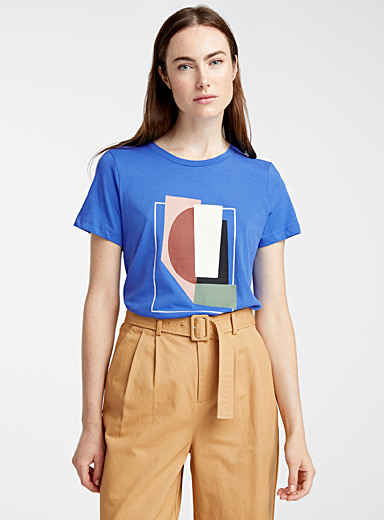 Abstract painting tee
