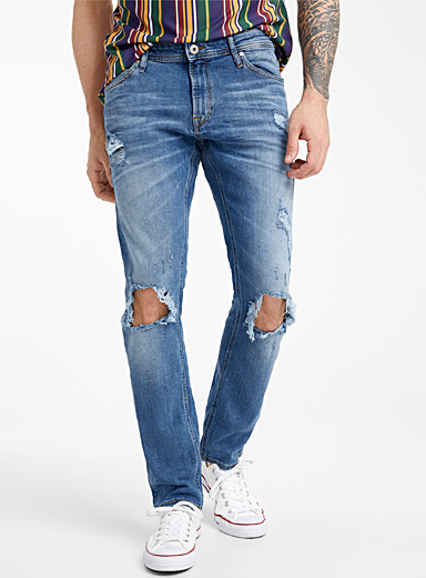 Ultra distressed jean  Slim fit