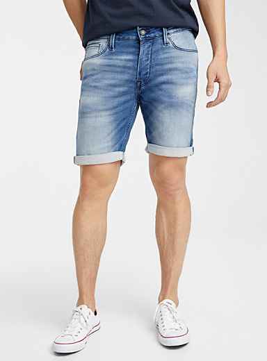 Le short denim doublé ratine