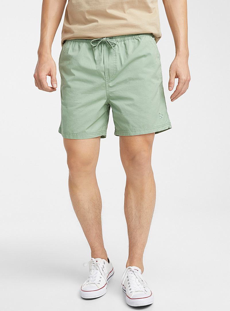 Jack & Jones Green Adjustable-waist short for men