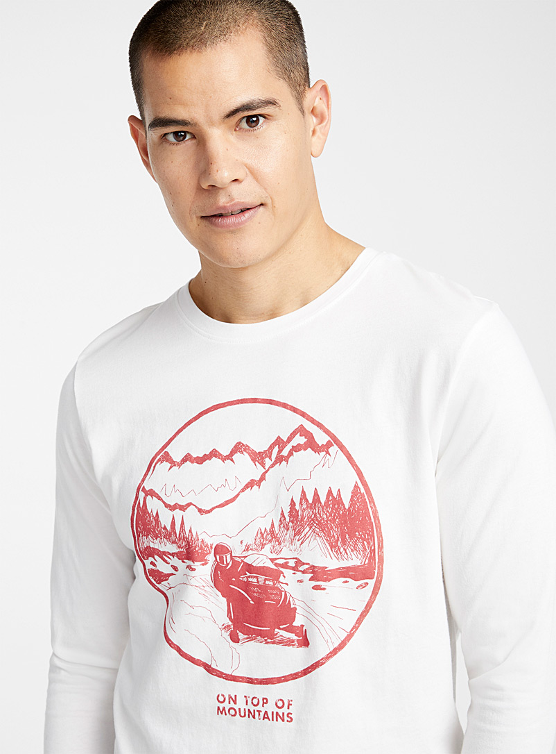 Great Outdoor T-shirt - Prints - White