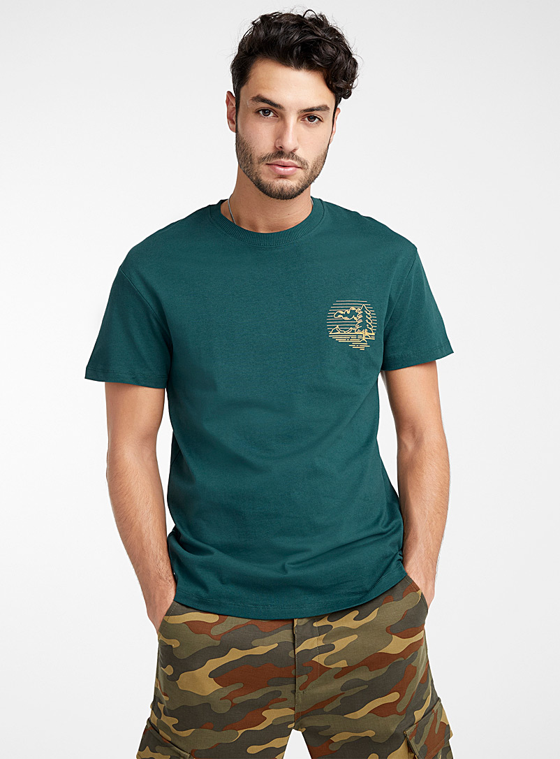 Wildlife T-shirt - Logo wear - Mossy Green