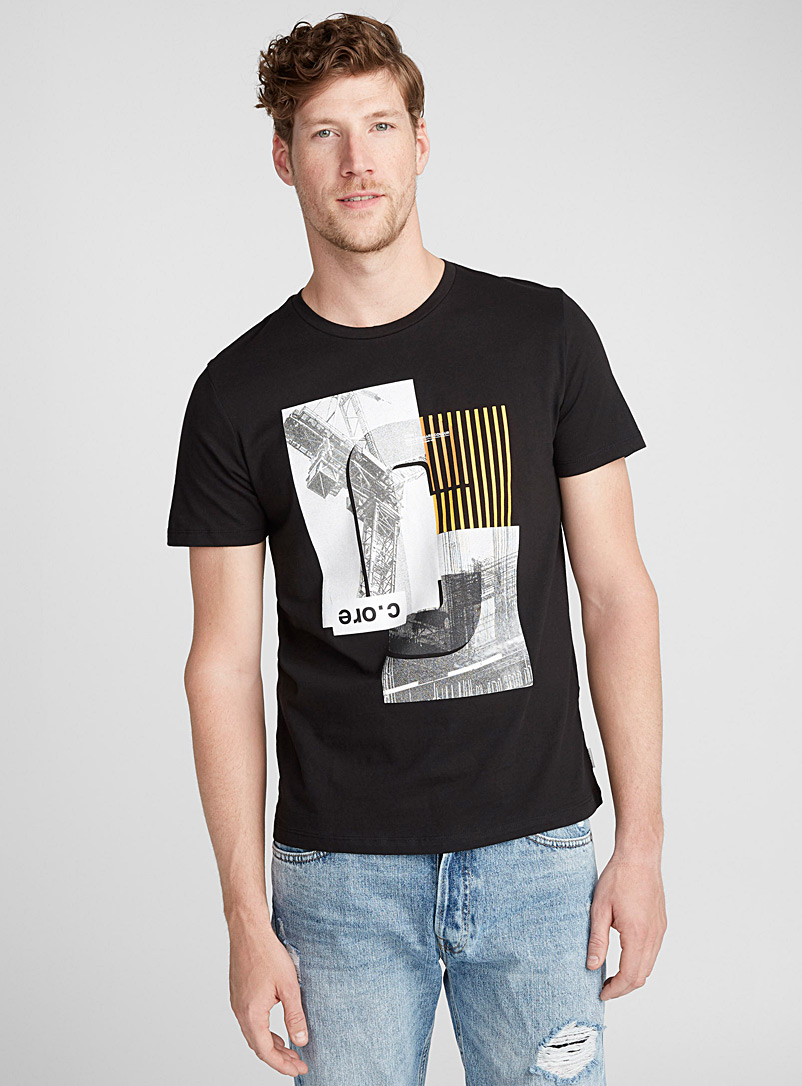 Graphic city T-shirt - Prints - Black
