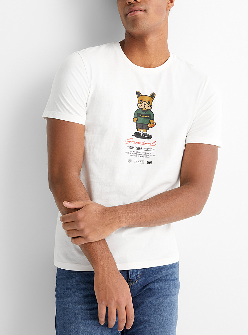 Le t-shirt Denim Dog & Friends