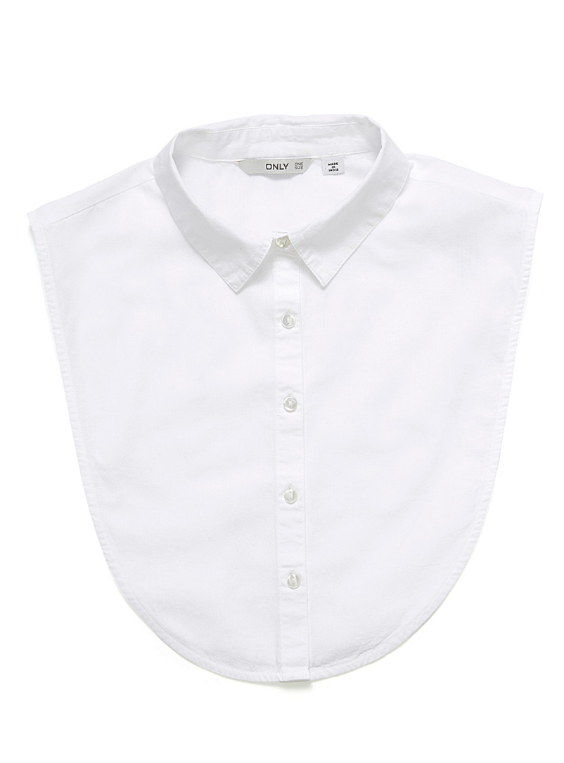 White shirt collar - Assorted Extras - White