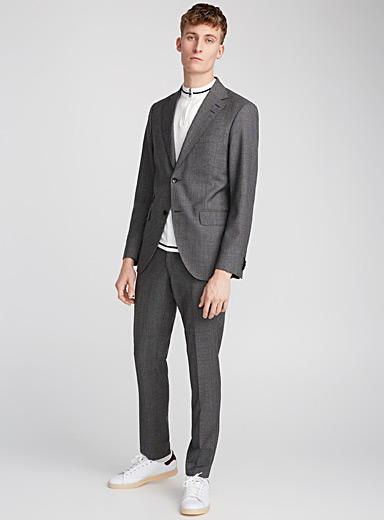 Ash grey Barro suit  Slim fit