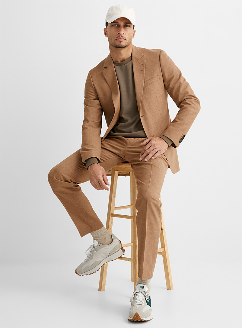 Tiger of Sweden Fawn Jamonte natural chambray suit Slim fit for men