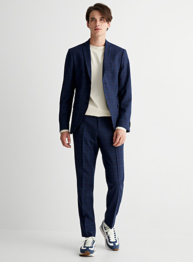 Jules double-check suit Slim fit
