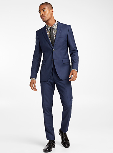 Semi-plain suit <br>Slim fit