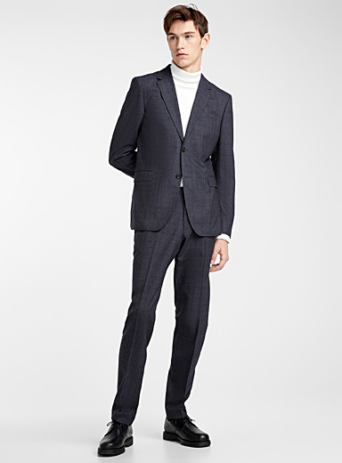 Jarl Ula blended Prince of Wales suit <br>Slim fit