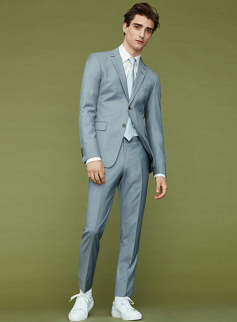 Light blue suit  Slim fit - Slim Fit - Baby Blue