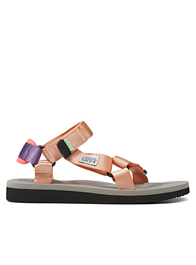 Suicoke Pink Depa-Cab sandals for men
