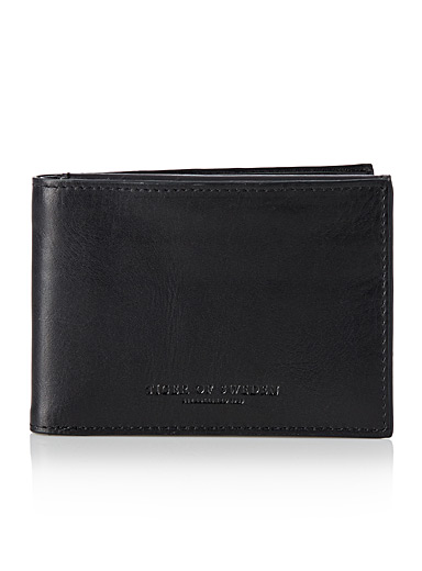 Agata leather wallet
