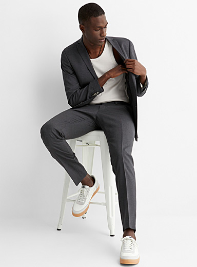 Nedvin 4-season wool suit <br>Slim fit