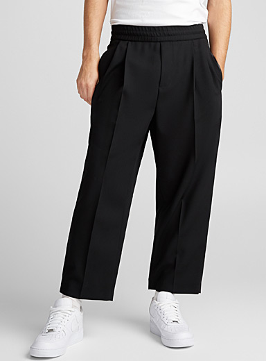Double pleat pant