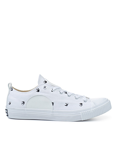 Plimsoll bird logo sneakers <br>Men