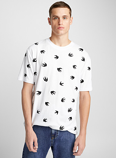 Swallow logo emblems T-shirt