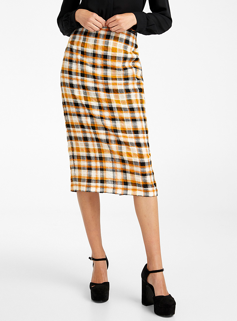 McQ-Alexander McQueen Honey Pencil-style midi skirt for women