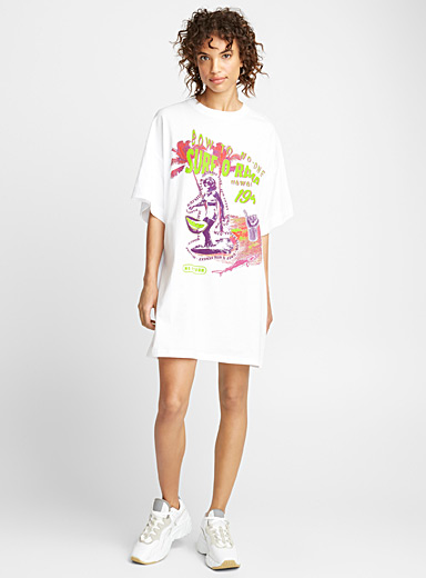Surforama T-shirt dress